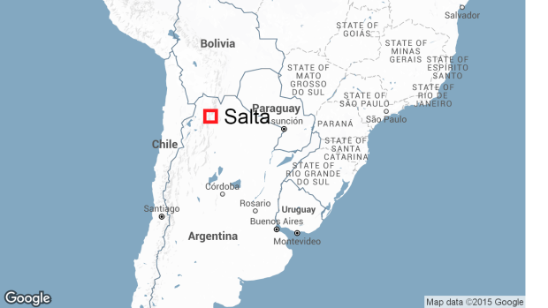 CBC News Argentina Police Bus Crash Kills At Least - Argentina map salta