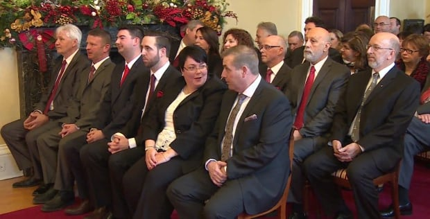 Liberal cabinet sworn in Dwight Ball