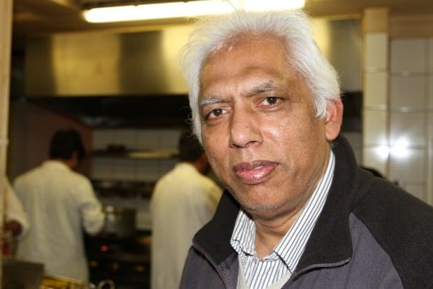 Restaurant owner Azmal Hussein