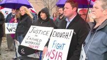 WSIB protest