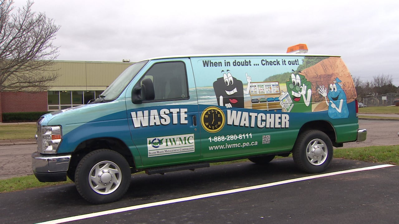 Island Waste Management's new curbside monitoring van