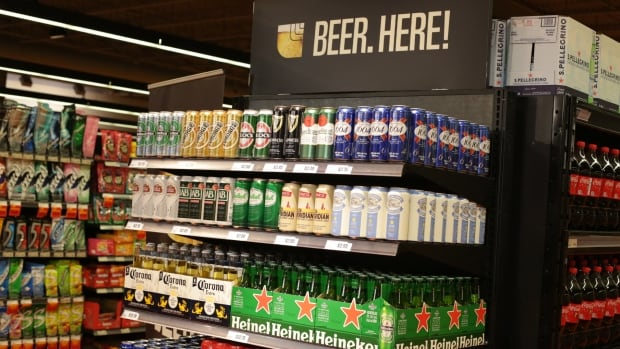 58 grocery stores across Ontario will sell beer starting today.