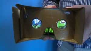 Google Cardboard close-up