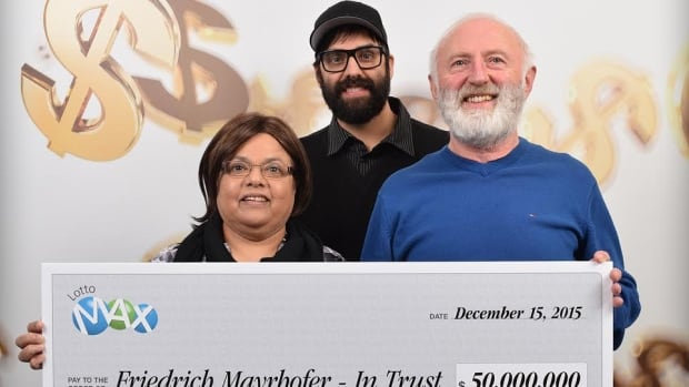 Annand, Eric and Friedrich Mayrhofer of Langley, B.C. have finally come forward to claim the $50M Lotto Max prize that was drawn in March of 2014.