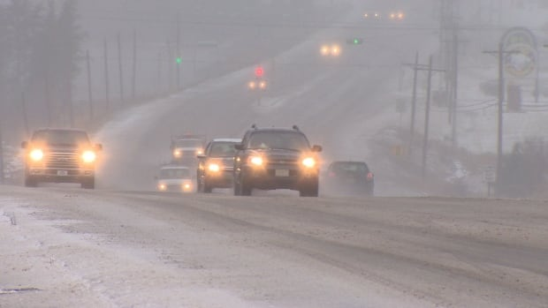 A winter storm is with 15 centimetres of snow is expected to hit Nova Scotia on Friday evening and into Saturday.