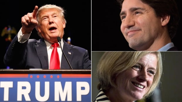 Eric Grenier's Pollcast panel discusses three of the biggest political stories of 2015: Donald Trump's campaign to win the Republican nomination, Justin Trudeau's successful federal election campaign and Rachel Notley's NDP victory in Alberta.