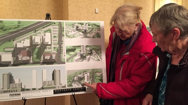 Residents in the Carling and Merivale area attended an open house on Wednesday evening to get an idea of what RioCan wants to propose for the site of the Westgate Shopping Centre.