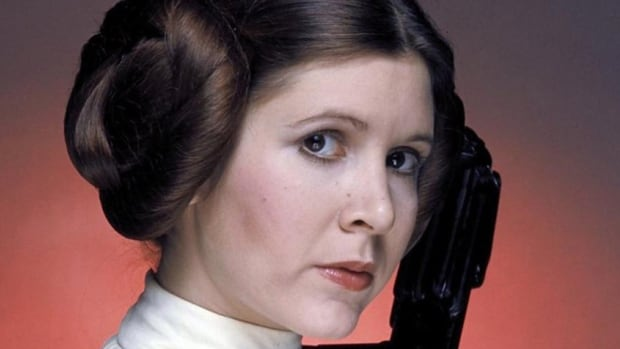 Carrie Fisher was in Edmonton for the annual science fiction convention.