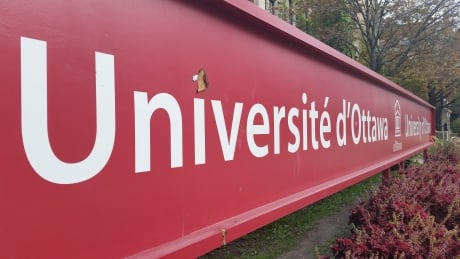 university of ottawa sign uottawa u of o