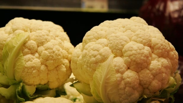 The price of cauliflower is $8 a head at some Ottawa grocery stores.