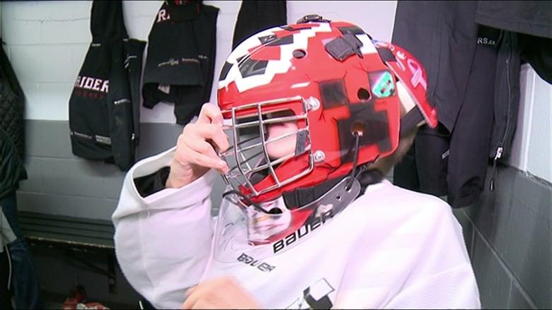 Art on the ice: Ottawa painter's eye-catching goalie masks