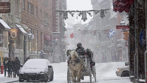 Environment Canada senior climatologist David Phillips says Western Canada can expect to see white Christmases, but Eastern Canada, including Montreal, can expect to see green Christmases.
