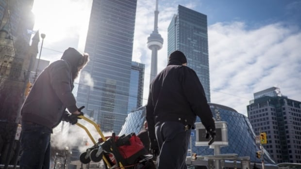 Expect a mostly cloudy Wednesday with a 40 per chance of flurries and a high of –2 C in Toronto.