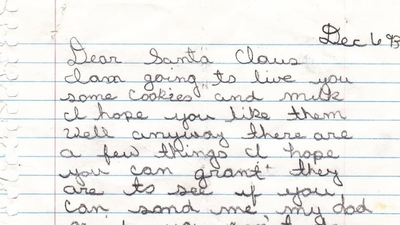 Writer of heartbreaking 1993 dear santa letter reconnects with the letter is dated dec 6 1993 tom hurstfacebook spiritdancerdesigns Gallery