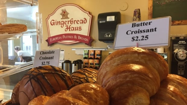 The owner of the Gingerbread Haus says there have been weeks where he couldn't make certain products because he was out of butter.