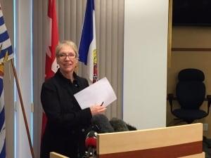 Esquimalt Mayor Barbara Desjardins