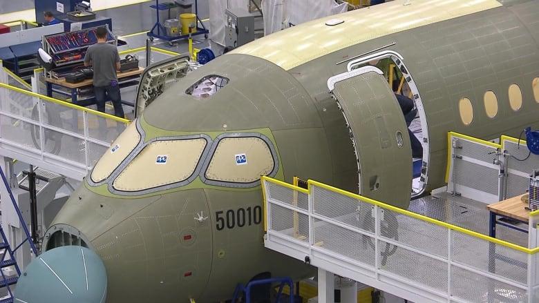 Resultado de imagen para Bombardier Mirabel factory