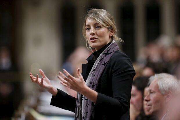Heritage Minister Melanie Joly