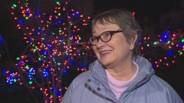 Cate Jones helped to organize the Trinity Street Christmas Light Festival for 10 years but says it's time to pass the torch.