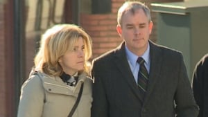 Dennis Oland, and his wife Lisa, entering court for verdict Dec. 19, 2015