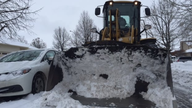 Residents in parts of Wolseley and the West End have to park on alternating streets during residential snow plow operations.