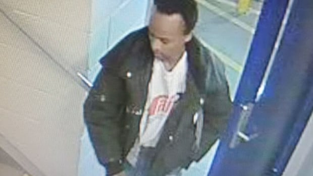 Calgary police released this photo of the parkade sexual assault suspect the same day a woman was attacked.