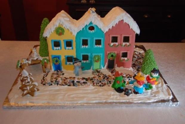 Jelly Bean Row gingerbread