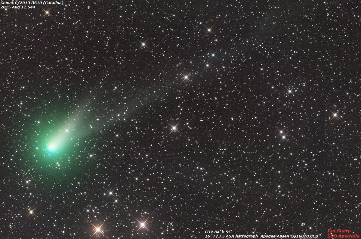 Comet Catalina: Don't miss your only chance to see it