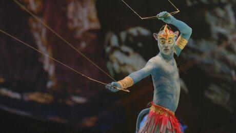 toruk circus performer