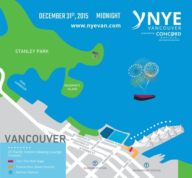 New Year's Eve fireworks in Vancouver for first time in decade