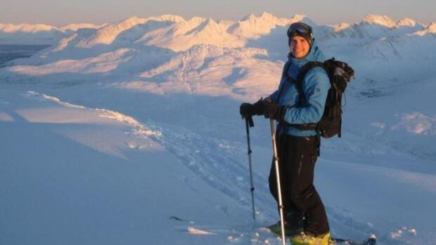 David Morissette skis often in the White Pass area south of Whitehorse.