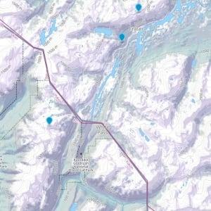 Map of White Pass