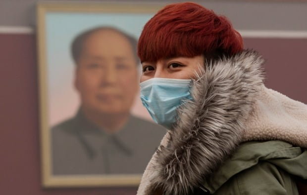 2015 photos of the year Beijing red alert smog Nov 30