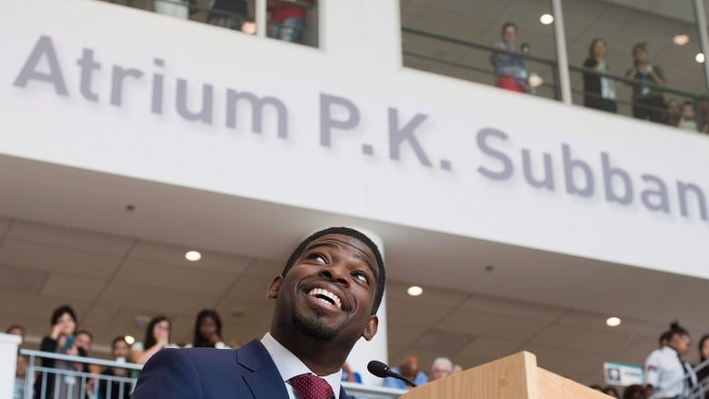 P K  Subban to receive national honour from Governor General