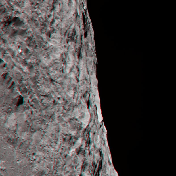 Ceres southern hemisphere 3D