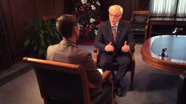 Premier Greg Selinger sits down with CBC News for an annual year-end interview. He says despite some setbacks, he has the best plan for the province.
