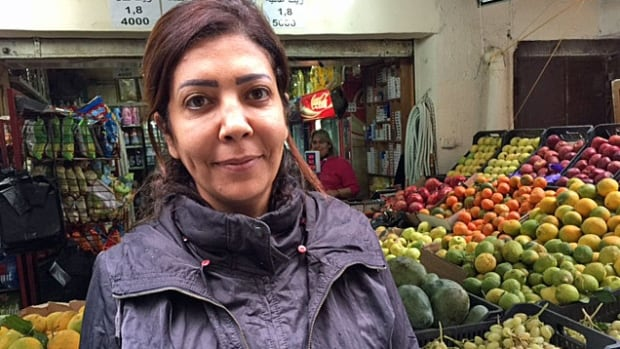 A social worker, Siham Abu Sitta, has been living precariously in Beirut for the past almost three years, ever since her husband was shot by a sniper while trying to deliver bread in the Yarmouk refugee camp outside Damascus.