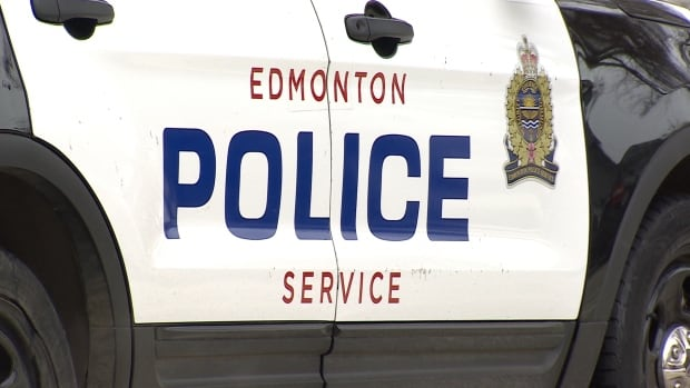 Edmonton police were called to the scene of the crash early Friday.