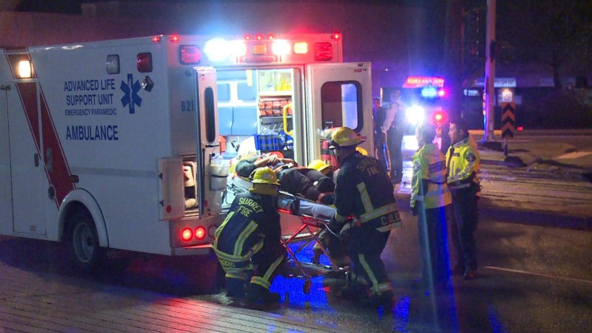 My Car North Bay >> 3-car crash sends 5 people to hospital in Surrey - British ...