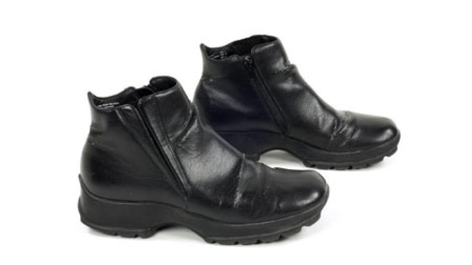 descriptive essay on shoes