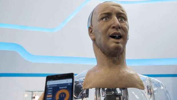 Hanson Robotics, the world's leading developer of human-like robots, unveiled its new humanoid Han in Hong Kong earlier this year. The robot's skin is made out of Frubber, an elastic polymer that mimics the human skin, and installed with about 40 motors on its face that help create various expressions.