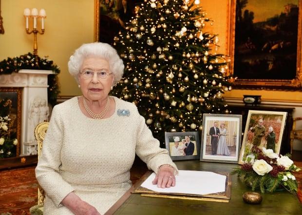 Britain Queen's Christmas