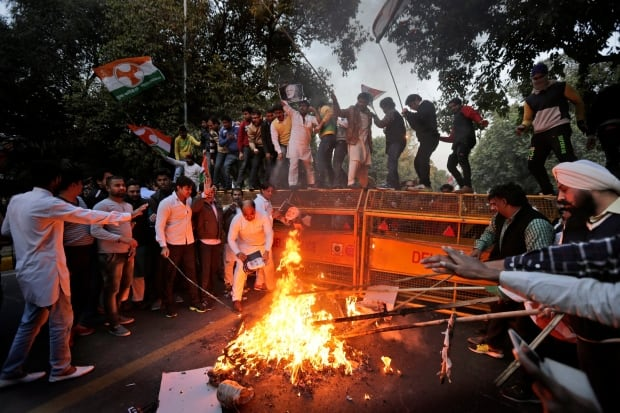 India Pakistan Protest
