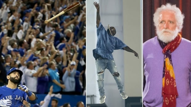Bautista's bat, Kanye's Pan Am microphone, Ken Whiteley's lavender sweater: Here are the stories behind some of 2015's most memorable objects.