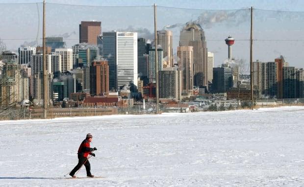 Calgary skyline, 2008