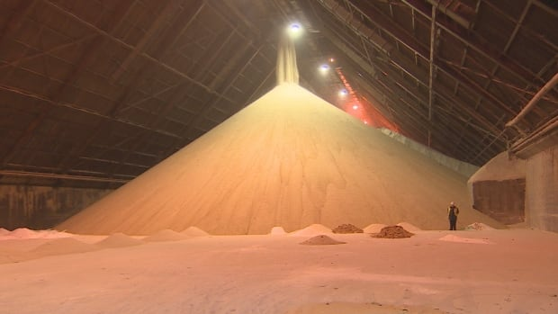 The Redpath Sugar refinery in Toronto accepts an average of two shipments of 21,000 tonnes of raw sugar each month.