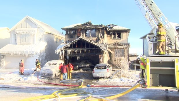 Airdrie fire got the call at about 9 a.m. Saturday