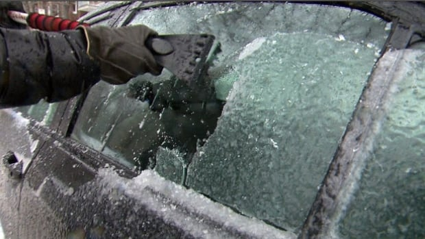 Toronto is under a winter weather travel advisory after snow turned to freezing drizzle in parts of the city on Monday.