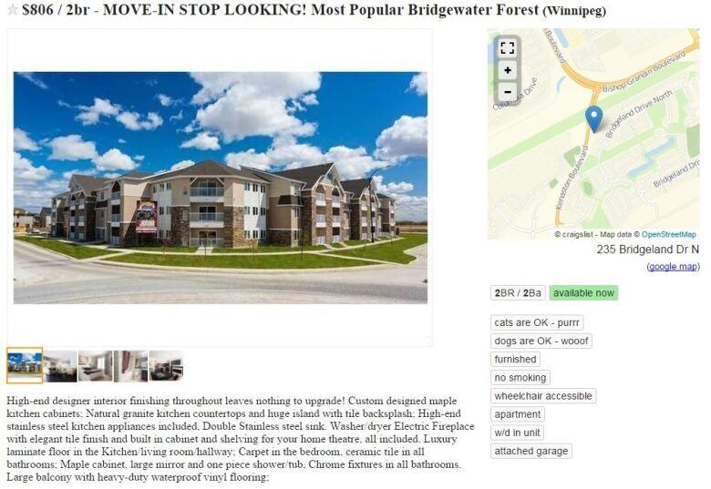 Winnipeg family latest victim of online condo rental scam