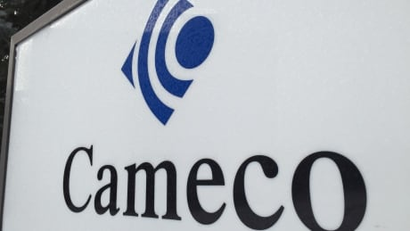 Cameco sign in Saskatoon